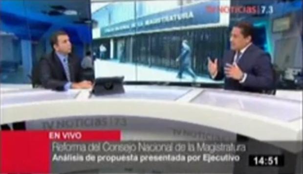 Entrevista a Fernando Silva en TV Noticias 7.3